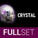 FULL SET OF MID-GRADE CRYSTAL IMPLANTS
