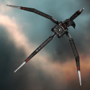 'Augmented' Ice Harvesting Drone (mining drone)