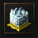 Compressed Blue Ice (ice ore) - 1,000 units