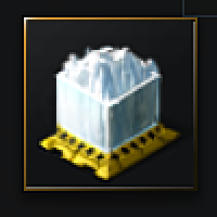 Compressed Glacial Mass (ice ore) - 1,000 units