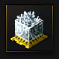 Compressed Glare Crust (ice ore) - 500 units