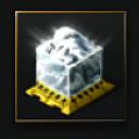 Compressed White Glaze (ice ore) - 1,000 units