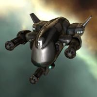 Federation Navy Hammerhead (medium attack drone) - 100 units