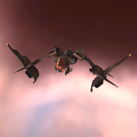 Standup Dromi II (structure-based support fighter) - 5 units
