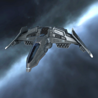 Standup Mantis II (structure-based heavy fighter) - 5 units