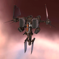 Standup Tyrfing I (structure-based heavy fighter) - 10 units