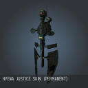 Hyena Justice SKIN (Permanent)