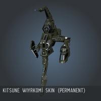 Kitsune Wiyrkomi SKIN (Permanent)