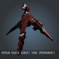 Merlin Raata Sunset SKIN (Permanent)