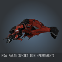 Moa Raata Sunset SKIN (Permanent)
