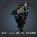 Muninn Valklear Glory SKIN (Permanent)