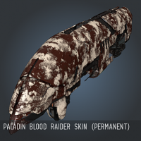 Paladin Blood Raider SKIN (permanent)