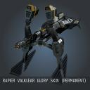 Rapier Valklear Glory SKIN (Permanent)