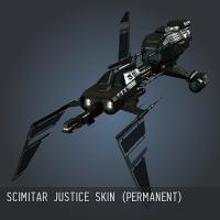 Scimitar Justice SKIN (permanent)
