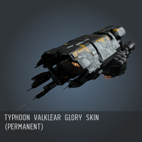 Typhoon Valklear Glory SKIN (Permanent)