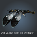 Wolf Valklear Glory SKIN (Permanent)